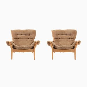 Lounge Chairs by John Mortensen, 1960s, Set of 2
