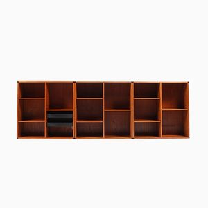 Einbau Bücherregale von Aksel Kjersgaard, 3er Set