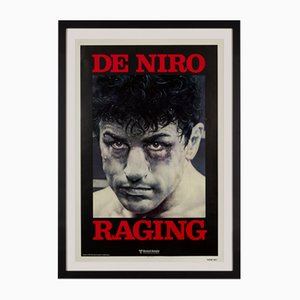 Raging Bull Film Poster by Kunio Hagio, 1980