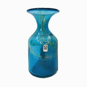 Vase Vintage pour Mdina Glass, Malte, 1970s