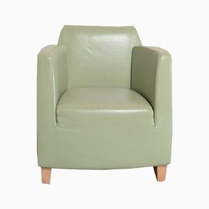 Chaise Vintage en Cuir par Kurt Erni pour Team par Wellis