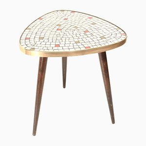 Mid-Century Mosaic Kidney Table, 1950s