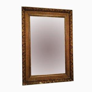 Specchio neoclassico vintage dorato