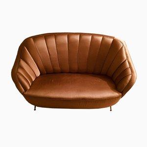 Italian Golden Sofa, 1960s