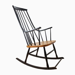 Mid-Century Grandessa Rocking Chair by Lena Larsson