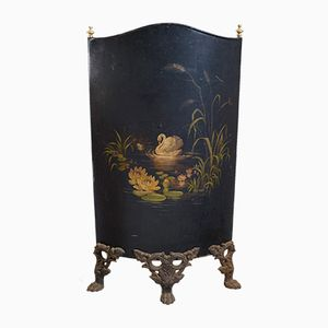 Antique French Fire Screen, 1860s