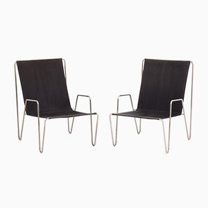 Bachelor Chairs by Verner Panton for Fritz Hansen, Set of 2