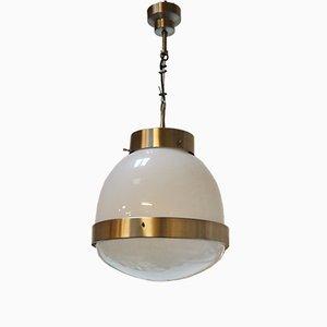 Lámpara colgante Delta Mid-Century de Sergio Mazza para Artemide