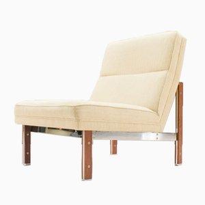 Armlehnstuhl aus Stahl & Palisander von Casala, 1960er