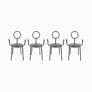 Vintage Stelline Chairs by Alessandro Mendini for Elam, Set of 4