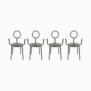 Vintage Stelline Stühle von Alessandro Mendini für Elam, 4er Set