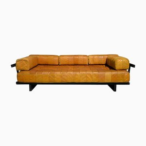 Vintage DS 80 Patchwork Leather Daybed from de Sede, 1960s