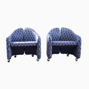 Series 142 Sessel von Eugenio Gerli für Tecno, 1966, 2er Set