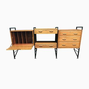 Vintage Ladderax Modular Storage System by Robert Heal for Staples Cricklewood