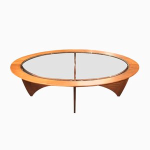 Astro Oval Coffee Table by VB Wilkins for G-Plan, 1960s