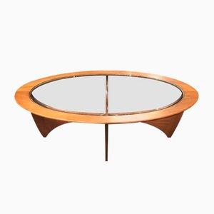 Tavolino da caffè ovale di VB Wilkins per G-Plan, anni '60
