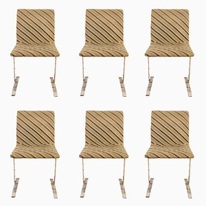 Dining Chairs by Giovanni Offredi for Saporiti, 1970s, Set of 6