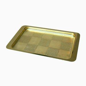 Goldenes Patch Tablett von Zanetto