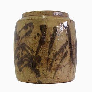 Vintage Vase aus Terrakotta von Giuseppe Pollino