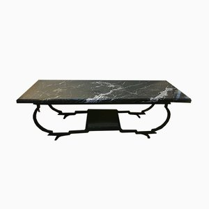 Marquina Marble Coffee Table, 1940s