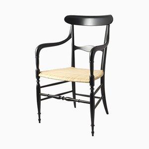 Chiavari Armlehnstühle, 1960er, 4er Set