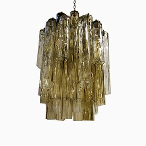 Vintage Tube Chandelier from Barovier & Toso