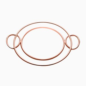 Round Binario Tray by Zanetto