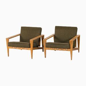 Vintage Lounge Chairs by Svante Skogh, Set of 2