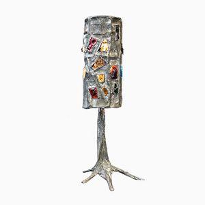 Brutalistische Vintage Stehlampe