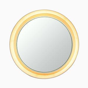 Round Illuminated Mirror, 1960s