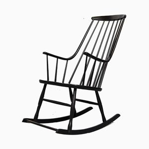 Vintage Grandessa Rocking Chair by Lena Larsson for Nesto