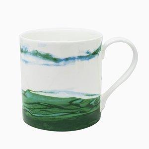 Tasse Jenny Verte par Deborah Allen pour 1882 Ltd.
