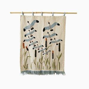 Vintage Birds Tapestry