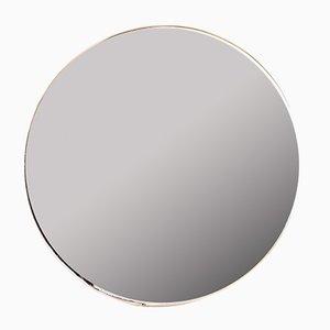 Halbrunder italienischer Vintage Spiegel