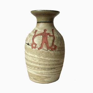 Vase Mid-Century en Céramique par Birgitta Lind pour Lillterrsjö Keramik