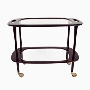 Chariot de Bar Mid-Century par Cesare Lacca pour Cassina, Italie, 1950s