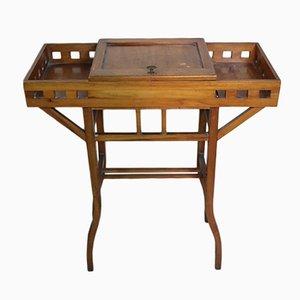 Art Nouveau Cherry Wood Coffee Table, 1910s