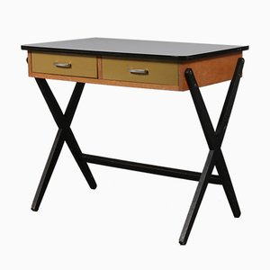 Small Dutch Desk by Coen de Vries, 1950s