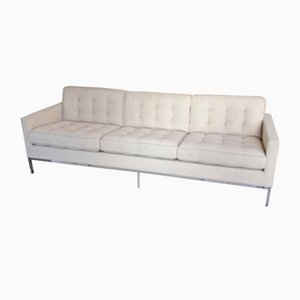 Vintage 3-Seater Sofa by Florence Knoll for Knoll Inc.
