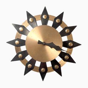 Orologio da parete Mid-Century, anni '60