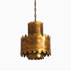 Vintage Brass Pendant by Svend Aage Holm Sørensen for Holm Sørensen & Co