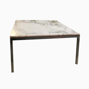 Vintage Marble Top Coffee Table by Florence Knoll
