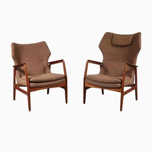 Dutch Lounge Chairs by Aksel Bender Madsen, 1950s, Set of 2