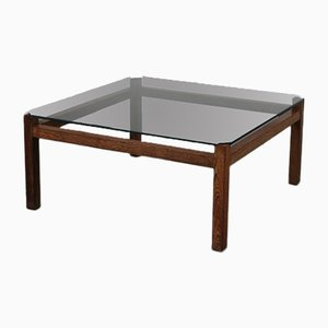 Dutch Square Coffee Table by Kho Liang Ie, 1950s