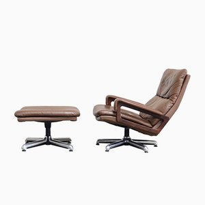 Vintage King Lounge Chair by Andre Vandebeuck for Strässle
