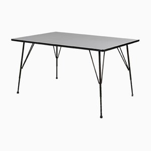 Industrial Dining Table by Rudolf Wolf, 1950s