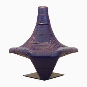 Sculptural Turner Lounge Chair by Jack Crebolder for Harvink, 1982