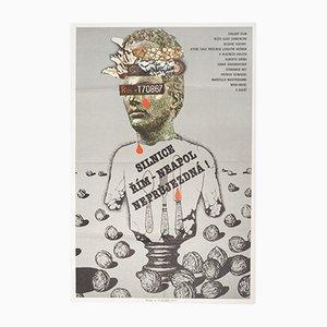 Traffic Jam Movie Poster from Karel Teissig, 1981
