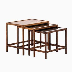 Tables Gigognes par Kurt Østervig pour Jason Mobler, 1960s
