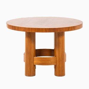 Tavolino piccolo rotondo di Reiners, anni '30